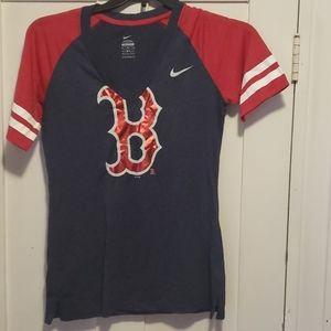 Nike Boston Red Sox womens tee
